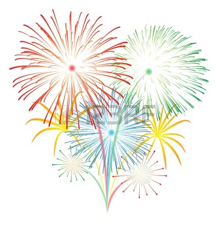 24557542 feu d artifice mairie de puymoyen Exploding Fireworks Clip Art Fireworks Animation for PowerPoint